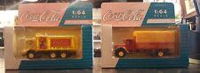 Lot of 2 Vintage Coca Cola 1/64 scale die-cast metal toy cars