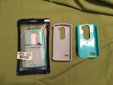 LG Leon Case New Grey Blue