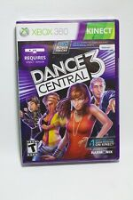Microsoft XBOX 360 Game DANCE CENTRAL 3 **Brand New**