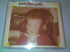 TIM DELUXE - LESS TALK MORE ACTION - HOUSE CD SINGLE