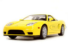 2002 ACURA NSX YELLOW 1:18 DIECAST MODEL CAR BY MOTORMAX 73140