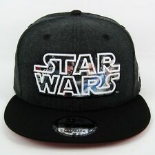 New Era Men's Star Wars The Last Jedi Logo Fill Kylo Ren & Rey 950 Snapback Cap