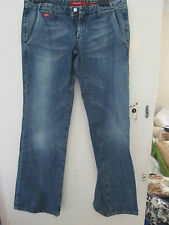 Miss Sixty Thierry Blue Straight Low Rise Jeans Size 31 Fits Size 10 - L35 Tall