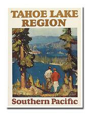 "Travel Poster Lake Tahoe Art Decor Vintage Print 12x16"" Rare Hot New XR639"