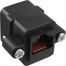 Accoppiatore da Pannello RJ45 Ethernet Femmina / Femmina LAN UTP