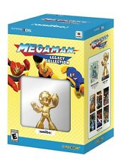 Mega Man: Legacy Collection Collector's Edition & Gold amiibo [Nintendo 3DS] NEW