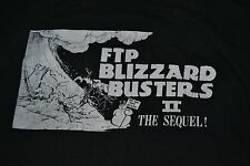 VTG FTP Blizzard Busters II XXXL 3XL Beat Up Computer Nerd Winter Gamer MI 5050