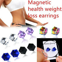 Magnetic Weight Loss Earrings Healthy Stimulating Acupoints Ear Stud UURSDE