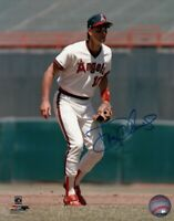 Doug Decinces Signed Autographed 8X10 Photo California Angels Ready Pose w/COA
