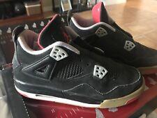 "2012 Air Jordan Retro IV(4) ""Bred"" Size 6 1/5 W/ No Box"