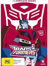 Transformers Animated The Complete Series Seasons 1-3 New Dvd Set Region 4 R4
