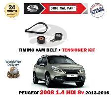 für Peugeot 2008 1.4 HDI 8V 68bhp DV4C 2013> Zahnriemen+SPANNROLLE Set