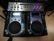 2 x Vestax CDX05 CD players and Vestax PMC250 Mixer