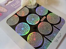 Nail Art Vinyl Manicure Stencils Guide Stars Style Tip Manicure Sticker N321