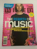 Wired Magazine The Rebirth Of Music Beck September 2006 EUC