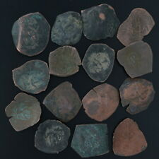 Ancient Coins Roman Artifacts Figural Mixed Lot of 15 B7320