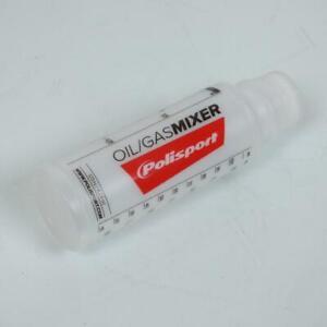 Doseur récupérateur huile gradué POLISPORT de 1 à 4% moto 2 temps 50 à