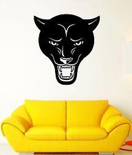 Wall Decal Panther Head Animal Predator Evil Grin Wild Vinyl Stickers (ed220)