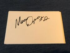 Marcus Dupree Index Card NFL RAMS