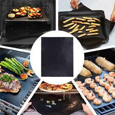 11*13.3in BBQ Grill Mat Non-Stick Bake Grilling Mats Barbecue Pad Teflon Fiber