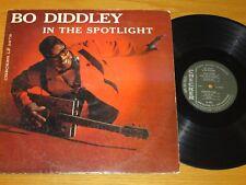 """MONO ROCK & ROLL LP - BO DIDDLEY - CHECKER 2976 - """"BO DIDDLEY IN THE SPOTLIGHT"""""""