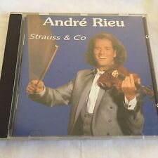 ANDRE RIEU    STRAUSS & CO - 14 TRACK CD - VGC -  *FREE STD POST*
