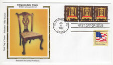 SSS:  Colorano Silk  FDC  2007  4c  Chippendale Chair  PNC S1111     Sc # 3761
