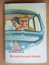 Original Betriebsanleitung Handbuch Lloyd LP400S LS400S LT500 Bremen