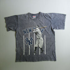 Vintage New York Yankees Baseball T-shirt 1990s Nutmeg L Large made in the USA