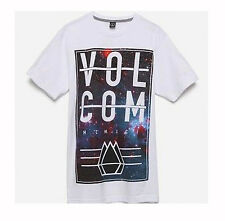 BRAND NEW VOLCOM MENS GUYS GRAPHIC T SHIRT CREW TEE TOP REGULAR FIT BLOUSE SZ L