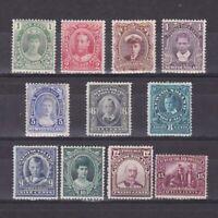 NEWFOUNDLAND 1911, SG# 117-127, CV £250, MH/Regummed/No gum