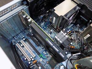 12 CORE HP Z600 V2 WORKSTATION DUAL Xeon X5675 64GB 320GB 10K RAPTOR + 2TB HDD