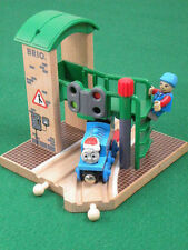 BRIO 33558 SIGNAL SWITCH STATION for Thomas & Friends Wooden Railway ENGINE set