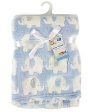 First Steps Boys' Fleece Nursery Blankets & Throws