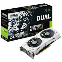 ASUS GeForce DUAL-GTX1060-O6G 6 GB Nvidia GDDR5 Graphics Card