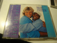 RAR SINGLE CD. BLUE SYSTEM & DIONNE WARWICK. IT'S ALL OVER