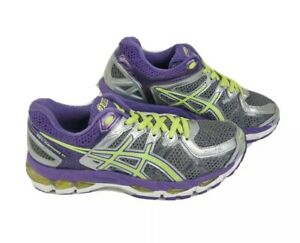 Asics Gel Kayano 21 Womens Athletic Running Shoes T4H7N Multicolor Size 6.5