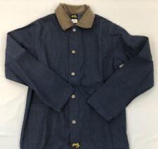 Stan Ray Chore Coat Dead Stock Denim w/Cord Collar Bottom Pkts w/Inside Pkt.
