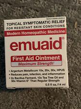 Emuaid First Aid Ointment Maximum Strength Homepathic Medicine, 0.5 fl oz