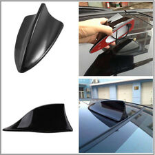 Auto Car Shark Fin Style Roof Antenna Radio FM/AM Decorate Aerial Signal Black