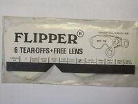 Scott 109 -199 Ersatzglas, Flipper klar, MX, Enduro, Cross,  Vintage, Classic,