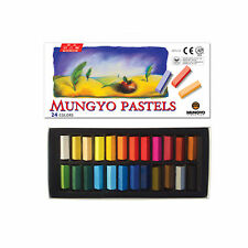 Mungyo Soft Pastels 24 colors Vivid Color For Artist
