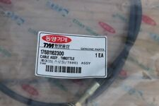 TYM T680 Tractors Cable Assy. Throttle. 17681162300. Still sealed.
