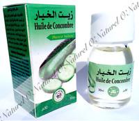 Huile de Concombre (Macérât) 100% Naturelle 30ml Cucumber oil, Aceite de Pepino