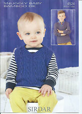 Sirdar Boys Children's Clothing Sweaters Patterns