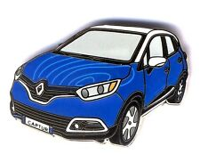 Renault Captur belle qualité émail 2 attaches 50ex numérotés