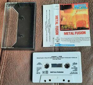 METAL FUSION  CASSETTE TAPE 1984 VA  HEAVY METAL OZZY Y&T TRUST QUIET RIOT