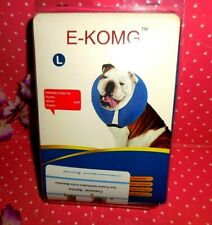 New listing Large ~ Dog Soft Inflatable Recovery E-Collar ~ E-Komg ~ New ~ Comfy Collar