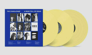 The Charlatans - A Head Full Of Ideas - Triple Opaque Yellow Vinyl LP *NEW*