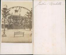 France, Paris, Jardin Mabille, Kiosque à musique, bas des Champs-Elysées, circa